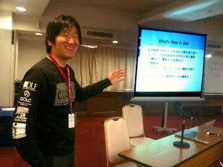 Code4Lib 2011参加報告会&Campに参加しています(Live中継中)